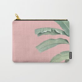 Green leaves on rose ink Carry-All Pouch
