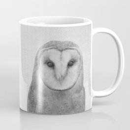 Owl - Black & White Coffee Mug