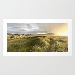 Dunes at Seaside Art Print