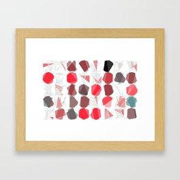 "Math Art Digital Print - ""blackjack caRds"" Framed Art Print"