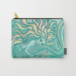 Seafoam Mermaid Carry-All Pouch