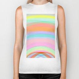 Double Rainbow - Fluor colors - Unicorn dreamers Biker Tank