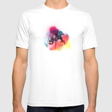 LINCE MEDIUM White Mens Fitted Tee
