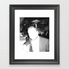 Mask of Lumière Framed Art Print