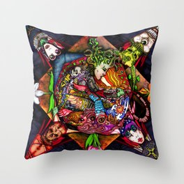 Strange Days: Any and Every Way Throw Pillow