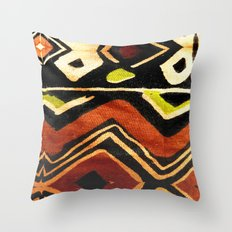 Africa Design Fabric Texture Throw Pillow