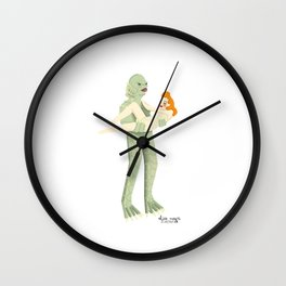 The Creature from Black Lagoon Wall Clock
