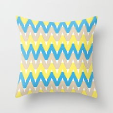 Summer Pattern 4 (Beach) Throw Pillow