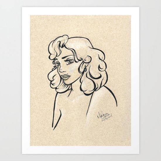 Beauty Mark Art Print
