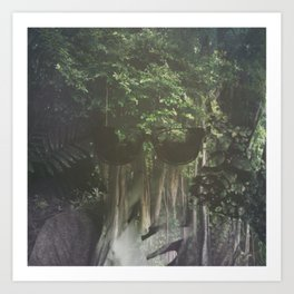 shades in the forest Art Print