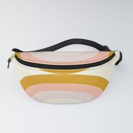 Moon rainbow Fanny Pack