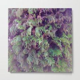 Tree Fuzz Metal Print