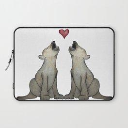Wolf Love Laptop Sleeve