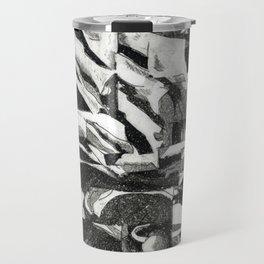 Fragmented Flora Travel Mug