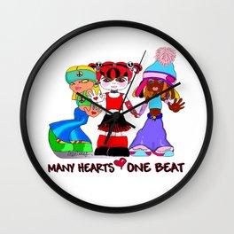 Beat Girlz Wall Clock