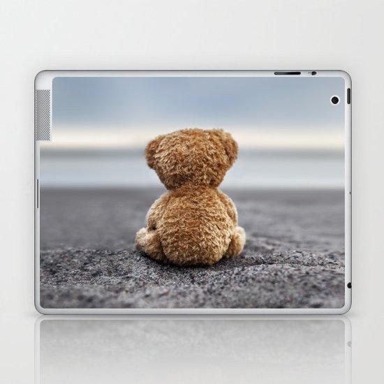Teddy Blue Laptop & iPad Skin