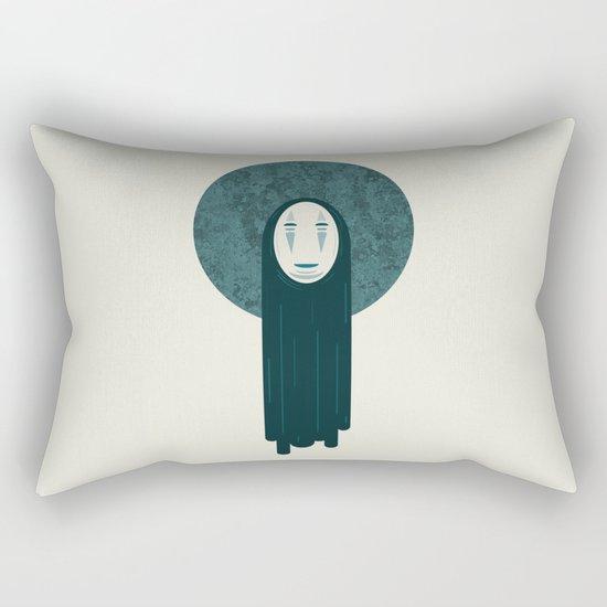 Spirited away, no face  Rectangular Pillow