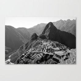 Machu Picchu v.2 Canvas Print