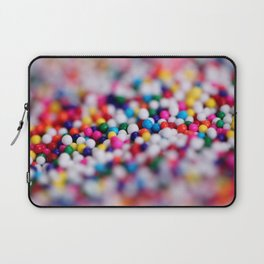 Colorful Candy Sprinkles Laptop Sleeve