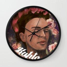 kahlo Wall Clock