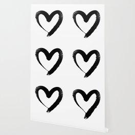 Ink Heart Minimal Fashion Stylish Wallpaper