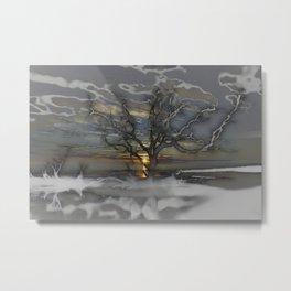 Driftwood Disorientated  Metal Print