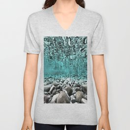 Time To Reflect, Dive Deeper Unisex V-Neck