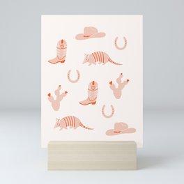Western Print Mini Art Print