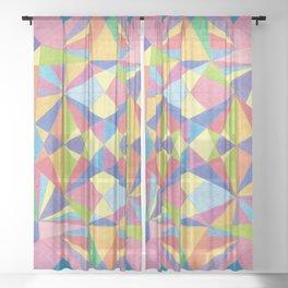 KKP 002 - Crystal imagination Sheer Curtain