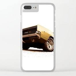 1968 Dodge Charger R/T - The Graphic Illustration Clear iPhone Case