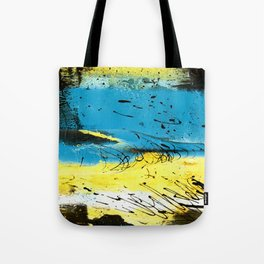 Yellow Drains Tote Bag