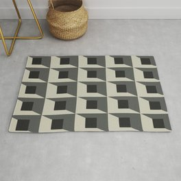 Original Geometric Design Rug