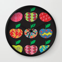 The Apples Wall Clock