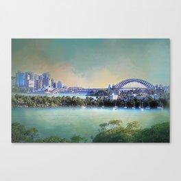 Sydney - The Harbour City Canvas Print