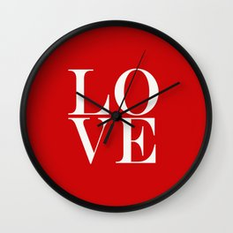 Burning Love Wall Clock