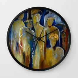 Chorus Angelorum Wall Clock