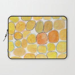 Cheerful orange Gathering Laptop Sleeve