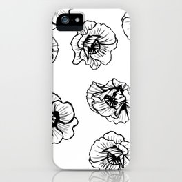 Hungry Poppies iPhone Case
