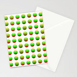 Flag of Lithuania 2– Lietuva,Lithuanian,Lietuvos,vilnius,kaunas,baltic,viking. Stationery Cards