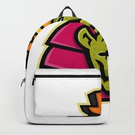 Sobek Egyptian God Mascot Backpack