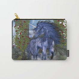 Blue Unicorn 2 Carry-All Pouch