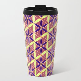 Flower of Life Pattern 15 Travel Mug