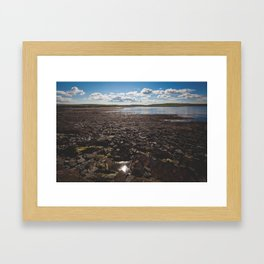 The Temporary Island Framed Art Print