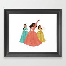 Schuyler sisters Framed Art Print