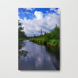 Boundary Waters Entry Point Little Indian Sioux River Metal Print