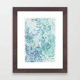 Caeruleum Framed Art Print