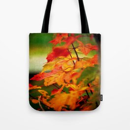 Tumble Down Fire Tote Bag
