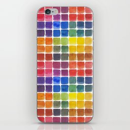 Mix it Up! - Watercolor Mixing Chart iPhone Skin