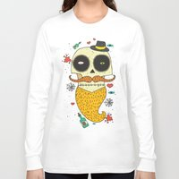 halloween Long Sleeve T-shirts featuring Halloween by Ariadna