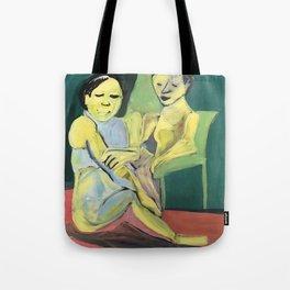 confiding Tote Bag
